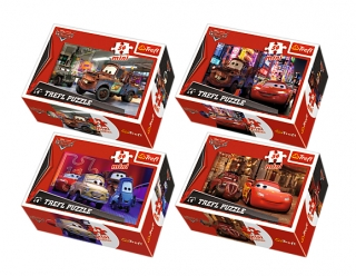 Minipuzzle Cars Disney (4 druhy)
